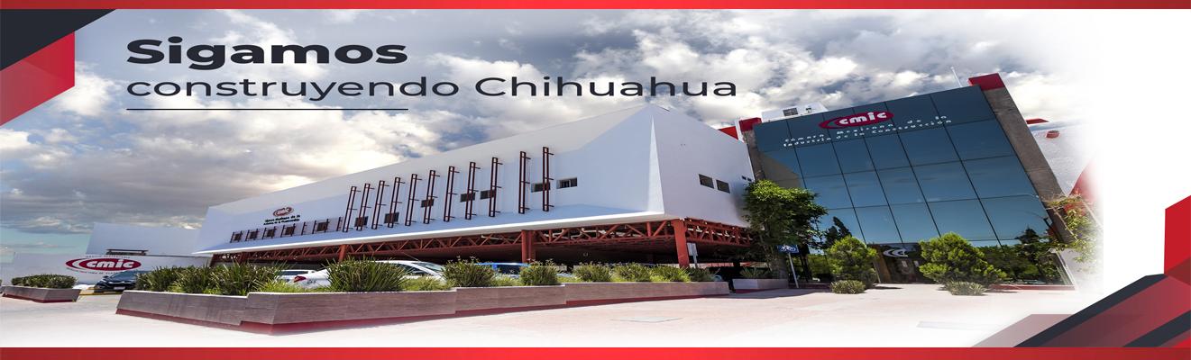 Edificio con logo CMIC